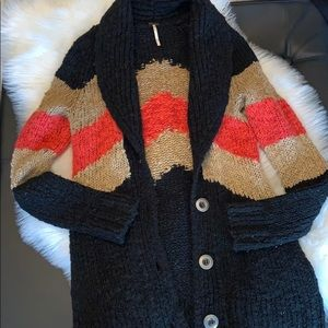 Free people knit cardigan. XS in great condition